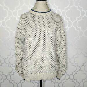 Vtg Eddie Bauer Knit Sweater Mens Womens